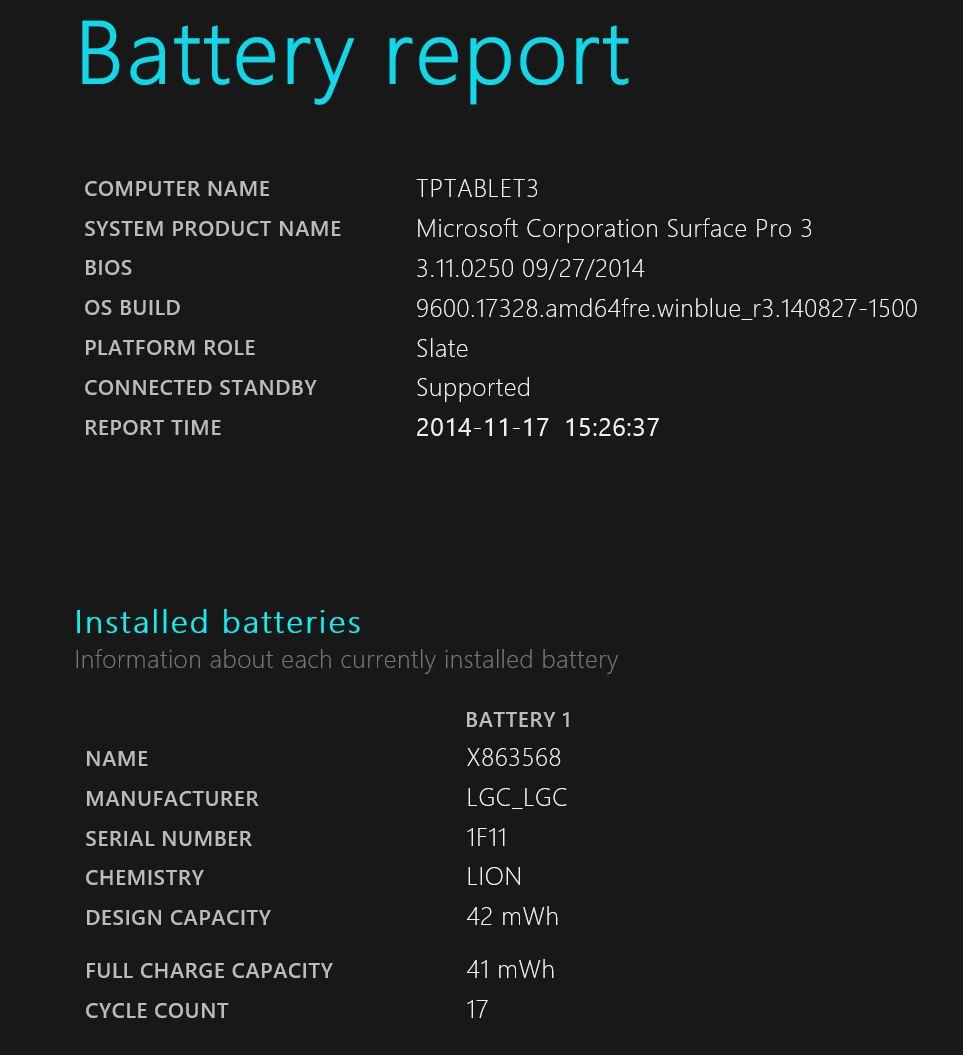 BatteryReport 1