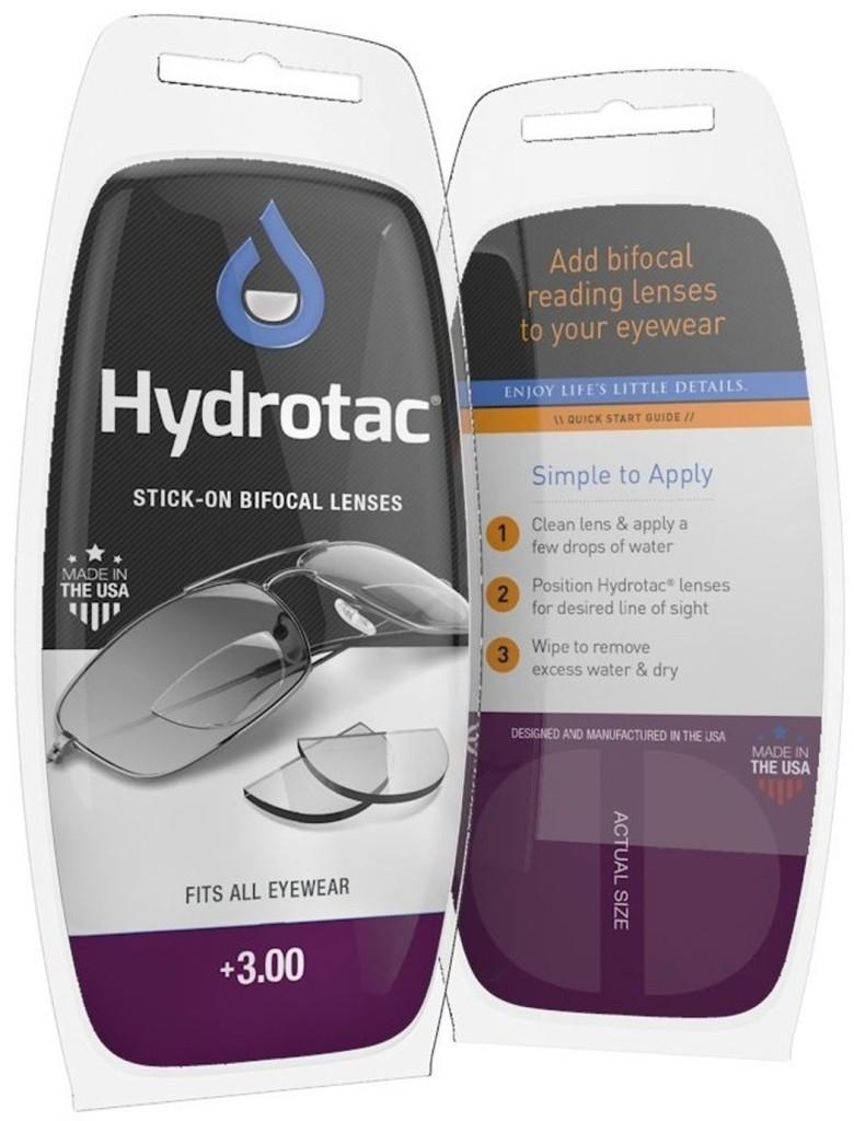 Hydrotac-Linsen