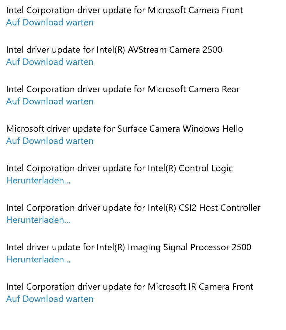 Kamera-Updates