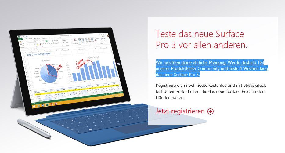 Pro3-produkttest