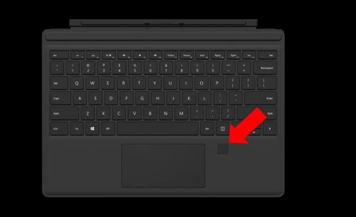 TypeCover4-Fingerprint