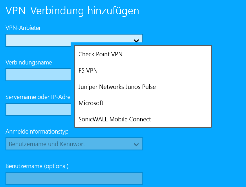 VPN-Anbieter2